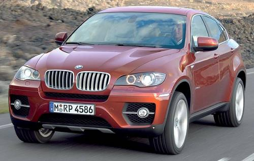 BMW X6 Face avant