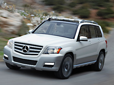 Mercedes GLK Face Avant