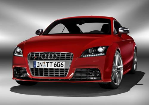 blog 4 auto auto automobile voitures de sport audi tt s rouge face avant. Black Bedroom Furniture Sets. Home Design Ideas