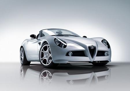 Alfa Romeo 8C Spider Face