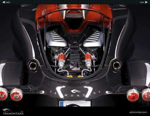 AD Tramontana moteur