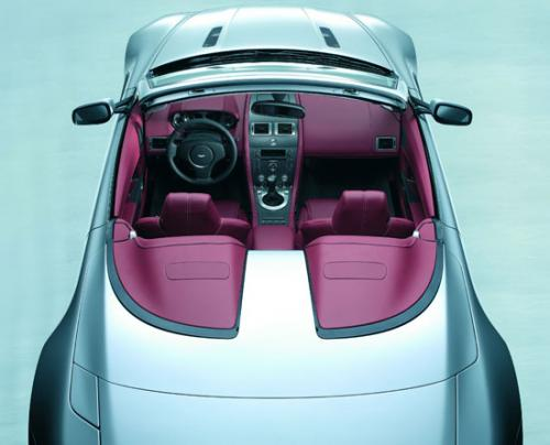 Aston Martin AM V8 roadster Couvre capote