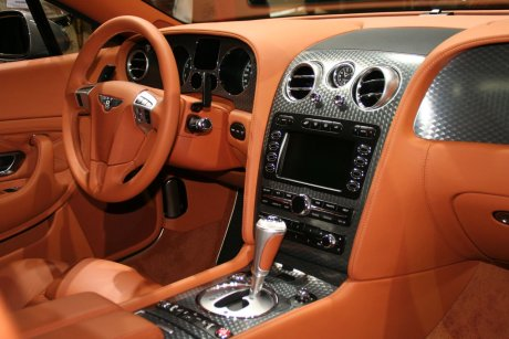 Bentley Continental GT Speed Intérieur