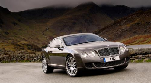 Bentley Continental GT speed face 2