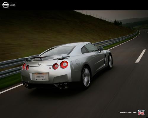 Nissan GT-R piste