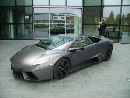 Lamborghini Reventon côté