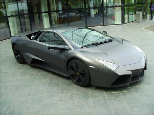 Lamborghini Reventon coté black