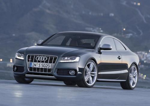 Audi S5 Noire Face