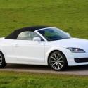Audi TT Roadster blanc