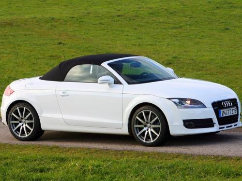 blog 4 auto auto automobile voitures de sport audi tt roadster blanc. Black Bedroom Furniture Sets. Home Design Ideas