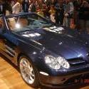 Mercedes SLR Roadster Bleu