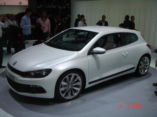 Volkswagen Scirocco Blanc 2008