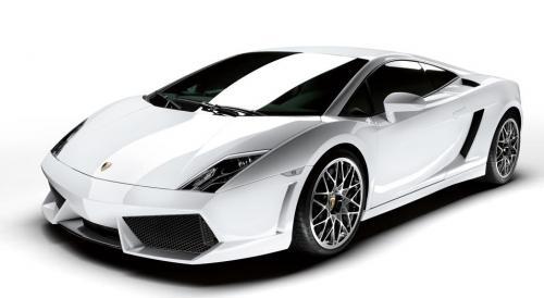 Lamborghini Gallardo blanche