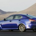 Lexus IS-F Bleue