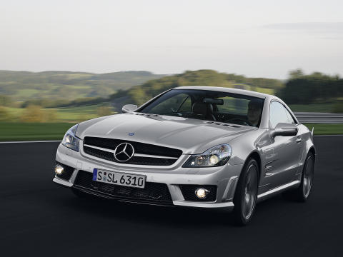 Mercedes sl 63 amg capote