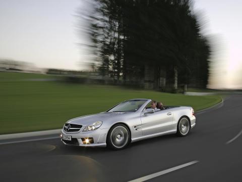 Mercedes SL 63 AMG circuit