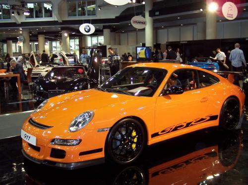 Porsche GT3 Orange